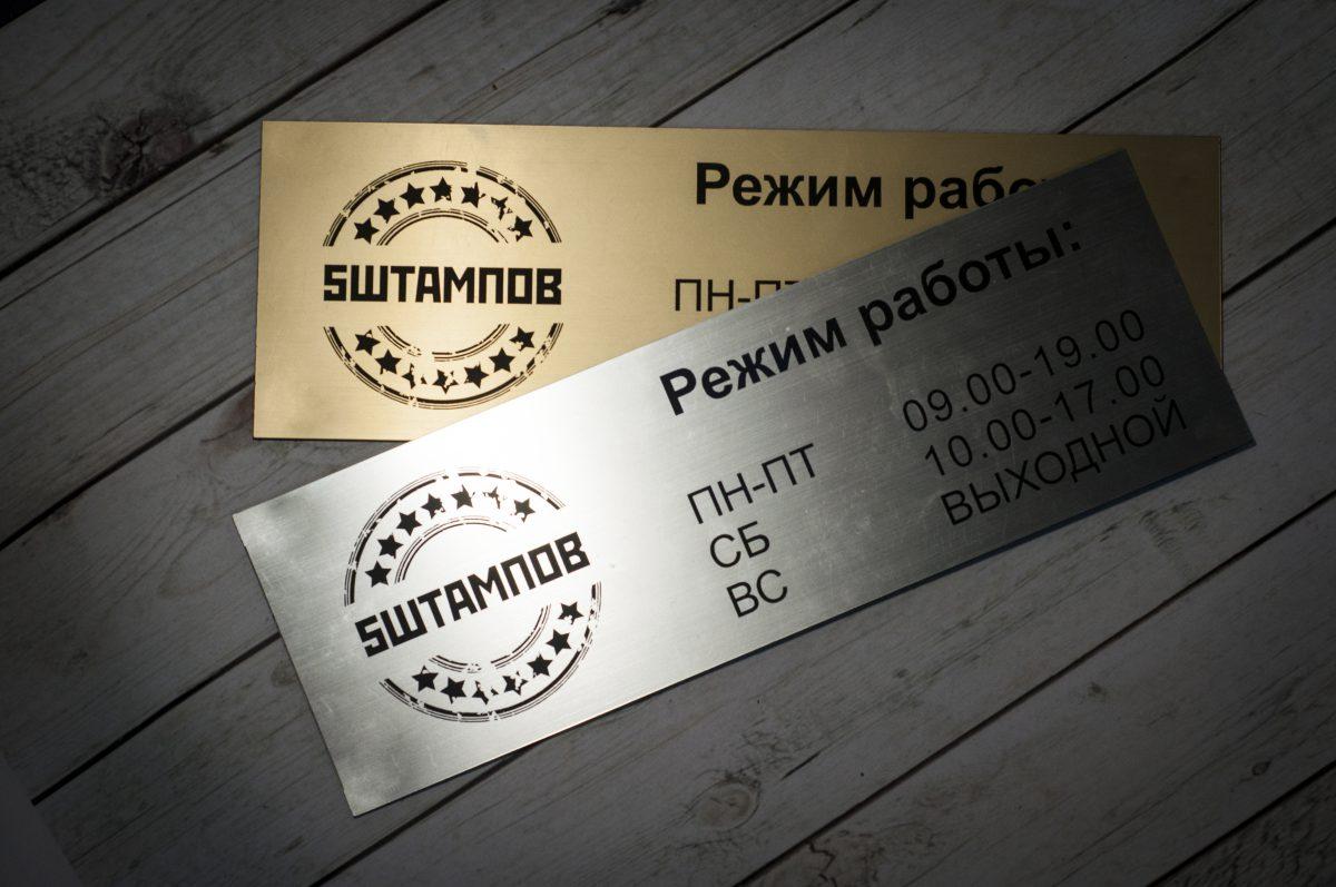 Таблички на дверь от Магнит-групп