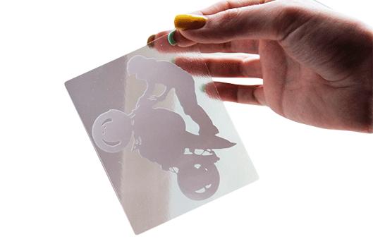 Изготовление наклеек на стекло